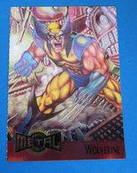 WOLVERINE CARD MARVEL METAL 1995 - Marvel