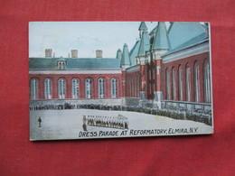 Dress Parade At Reformatory  Elmira NY      > Ref 3251 - Gevangenis