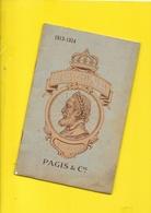 """Catalogue 1913 Cycles """"REGINA"""" Pagis 24 Pages + Couverture Format 14 X 21 Cm Env.. - Cyclisme"""