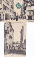 (42)   Lot De 2 CPA De  BASTIA - Bastia