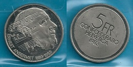SVIZZERA 1983 - E. ANSERMAT - 5 FR / CHF - SPL / FDC  - Confezione In Bustina - Svizzera