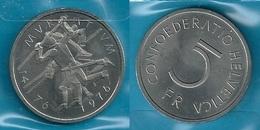 SVIZZERA 1976 - MURATUM - 5 FR / CHF - SPL / FDC  - Confezione In Bustina - Svizzera