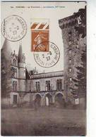 SUR CARTE POSTALE De VENDEE . LA FLOCELIERE . LE CHATEAU . Oblitération IXiéme CONGRES INTERNATIONAL PHILOSOPHIE - Temporary Postmarks