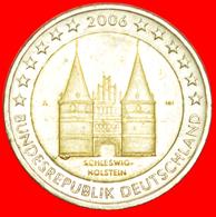 + SCHLESWIG-HOLSTEIN: GERMANY ★ 2 EURO 2006A With Big Chip! LOW START ★ NO RESERVE! - Varietà E Curiosità