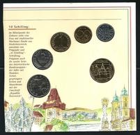 1995 AUSTRIA - DIVISIONALE FDC - N.° 6 Pezzi FDC - Con 20 SCHILLING - Confezione Sigillata - Austria