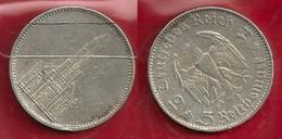 GERMANIA 1934 E - 5 Reichsmark  BB / SPL - Argento / Argent / Silver - Confezione In Bustina - (3 Foto) - [ 4] 1933-1945 : Troisième Reich