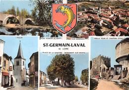 42-SAINT-GERMAIN-LAVAL- MULTIVUES - Saint Germain Laval