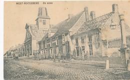 CPA - Belgique - West-Roosebeke - De Kerk - Staden
