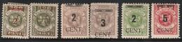 MEMEL - 6 Timbres * Surchargés (1923) Signé - Memel (Klaïpeda)