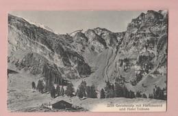 AK NW Gerschnialp Pfaffenwand Und Hotel Trubsee Zensur Freiburg Ges Engelberg 04.08.1918 Verlag Robert Hess # 2239 - NW Nidwalden