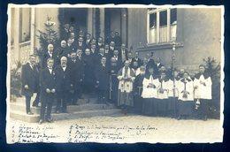 Cpa Carte Photo Allemagne Sarre à Saint Ingbert En Octobre 1926 Inauguration établissement Pensionnaires Lycéens  ACH14 - Saarpfalz-Kreis