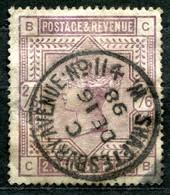 VE0370 GRAN BRETAGNA 1883 QV Alti Valori 2s.6d. Usato, SG #178, Val. Catalogo £ 160, Buone Condizioni - 1840-1901 (Victoria)