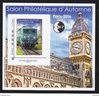CNEP N° 73 NEUF ** LUXE - SALON AUTOMNE PARIS 2016, Bloc Autoadhésif, TB - CNEP