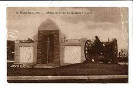 CPA - Carte Postale -BELGIQUE -Erquelines - Monument De La Grande Guerre-1927  VM1881 - Erquelinnes