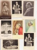 Beau Lot De 15  Images   -   Le PAPE PIE XII - Images Religieuses