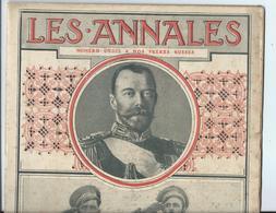 Revue Les ANNALES - 28 MAI 1916 -TSAR Et Frères RUSSES RUSSIE - Livres, BD, Revues