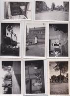 Solesmes Nord Archive Famille Carpentier Vital Rue De La Gare Lot De 190 Photographies Guerre 1939/45 Cachet Stalag WW2 - Albums & Collections