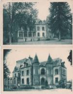 Lot De 2 Cpa BONNEMAIN (Ille Et Vilaine) - Chateau Des Diablaires - Maison De Plein Air Des Pupilles Du Nord - Other Municipalities