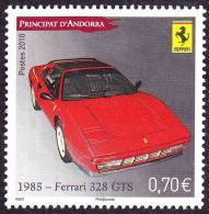 Andorre Français N° 696 ** Sport - Auto - Transport - Voiture. La FERRARI 328 GTS - Nuevos