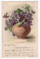 C Klein Vom Blumentisch Meissner & Buch 1054 Art Postcard 1902 - Klein, Catharina
