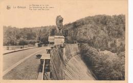 CPA - Belgique - La Gileppe - Le Barrage Et Le Lion - Gileppe (Stuwdam)