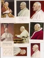 Beau Lot De 11 Images Religieuses Ou Pieuses   -   Le PAPE PIE XIII - Images Religieuses