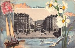 ¤¤   -   SUISSE   -   GENEVE   -  Rue Du Mont-Blanc     -  ¤¤ - GE Genève