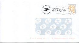 Entier Postal PAP Du Service La Poste Lettre En Ligne - Entiers Postaux