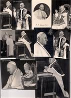 Beau Lot De 11 PHOTOS Dont 1 CP Religieuses Ou Pieuses   -   Le PAPE PIE XIII - Images Religieuses
