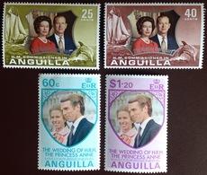 Anguilla 1972/3 Commemorative Sets MNH - Anguilla (1968-...)