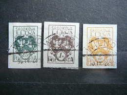 Central Lithuania Lietuva Litauen Lituanie Litouwen # 1921 Used # Mi. 20/2B - Lituania