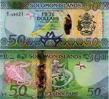 SOLOMON IS.         50 Dollars       P-35[b]        ND (2017)       UNC  [ Sign. 11 ] - Solomon Islands