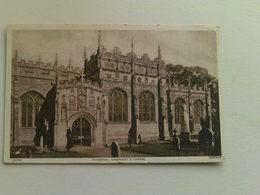 Black And White  Postcard - Greenway's Chapel , Tiverton - England