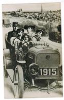 Happy New Year, Bonne Année 1915, Oldtimer (pk55836) - Nouvel An
