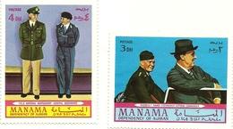 Manama - Generali Alleati    C4769 - Seconda Guerra Mondiale
