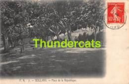 CPA 83 SEILLANS PLACE DE LA REPUBLIQUE - Sonstige Gemeinden