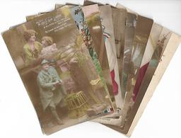 PATRIOTISME - Lot De 10 CPA - Guerre 1914-18 - Patriotisme - WW1 - Petit Prix ! - Guerre