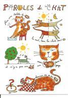 CHAT CPM Humoristique Illustrateur Sophie Bernard éditions Cartes D'Art - Gatti