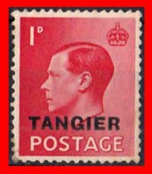 GRAN BRETAÑA  TANGER  ( TANGER BRITANICO ) 1936 KING EDWARD VIII -- GREAT BRITAIN POSTAGE - South West Africa (1923-1990)
