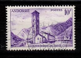 Andorre - YV 144 Oblitere - Oblitérés