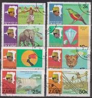 Danseur Nitore, Oiseau - Expédition Sur Le Fleuve Zaire - ZAIRE - Léopard, Nénuphar, Chutes D'Inzia, Pecheur - 1978 - Zaïre
