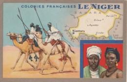 V29-  LE NIGER - COLONIES FRANCAISES - EDITION DU LION NOIR  - (2 SCANS) - Niger