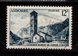 Andorre - YV 145 Oblitere - Oblitérés