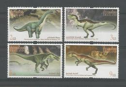 Thailand 1997 Prehistoric Fauna  Y.T. 1756/1759 ** - Thaïlande