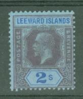 Leeward Is.: 1912/22   KGV   SG55    2/-      MH - Leeward  Islands
