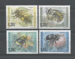 Bulgaria 2003 Bees  Y.T. 3972/3975 ** - Neufs