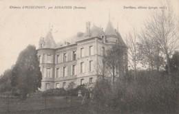 W6-80) CHATEAU D ' HEUCOURT PAR AIRAINES (SOMME) - (ANIMEE - 2 SCANS) - France