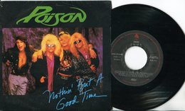 Poison - 45t Vinyl - Nothin'But A Good Time - Hard Rock & Metal