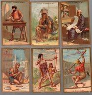 Paris : Lot De 6 Chromos A LA VILLE DE SAINT DENIS Arts Métiers Loisirs (PPP17937) - Autres