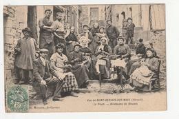 VUE DE SAINT GERVAIS SUR MARE - LE PIOCH - BRODEUSES DE BLOUSES - 34 - France